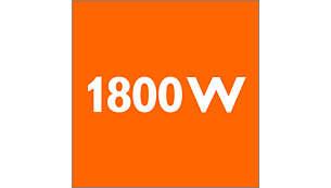 1800 Watt motor for high performance