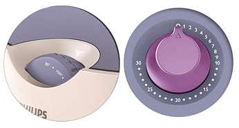 Controle ajustável de tempo e de temperatura