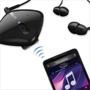 Música inalámbrica & control de llamada por Bluetooth