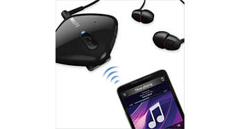 Bluetooth-enabled wireless music & call control convenience