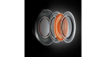 Controladores de movimiento en capas para frecuencias altas refinadas