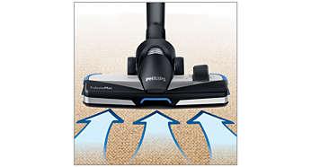 Uusi TriActiveMax 3-in-1 -suutin varmistaa erinomaisen siivoustuloksen