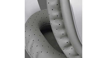 Highly breathable perforated-cushions to disperse heat