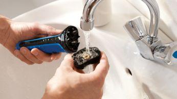 Aquatec: pencukuran basah yang menyegarkan dengan busa atau pencukuran kering yang mudah
