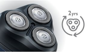 Consistent blade performance for up to 2 years.