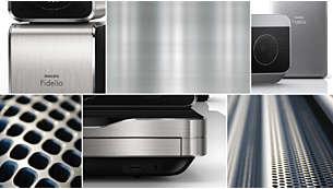 Wyrafinowane wzornictwo i wysokiej jakości wykończenie z aluminium