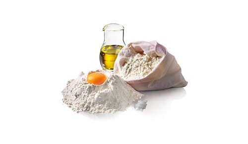 'Toevoegen'-indicator voor specialiteitsbroden met extra ingrediënten