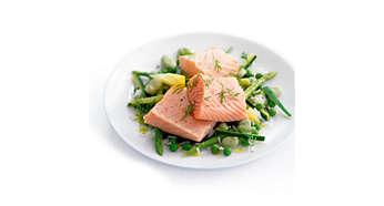 Vďaka zdravej príprave v pare si jedlo zachová všetky nutričné hodnoty
