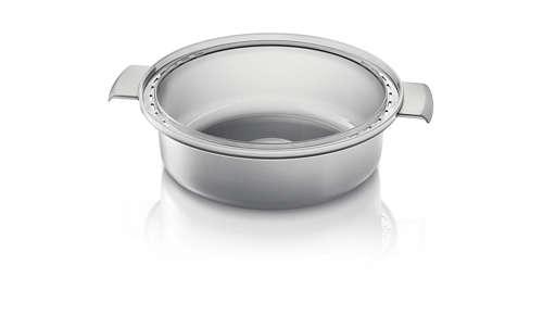 Bol vapeur pour soupes, ragoûts, riz et bien plus encore