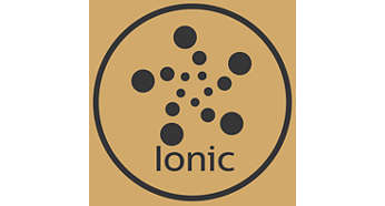 Ionic care for shiny, frizz-free hair