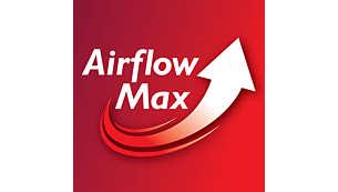 Rewolucyjna technologia AirflowMax zapewnia maksymalną moc ssania