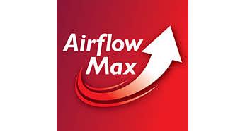 Revolučná technológia Airflow Max na extrémne výkonné satie