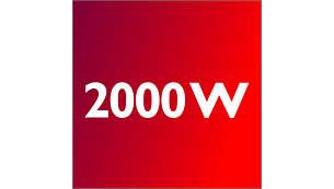 Moteur 2000Watts pour une efficacité optimale