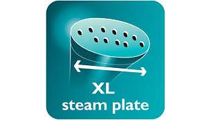 قاعدة بخار حجم XL لنتائج أسرع