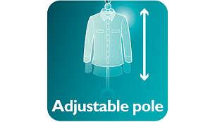 Adjustable pole