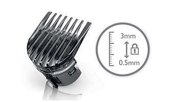 Precision comb for a short buzz style.