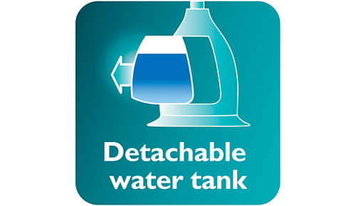 Large detachable water tank