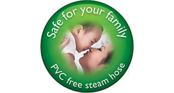 PVC free silicon steam hose