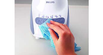 จอสัมผัสแบบนุ่มทำความสะอาดได้ง่าย