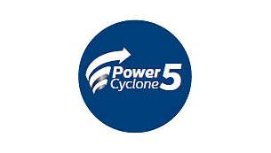 PowerCyclone 5 teknolojisi havayla tozu tek seferde ayırır