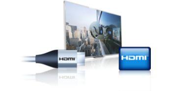 Tre ingressi HDMI ed EasyLink per connettività integrata