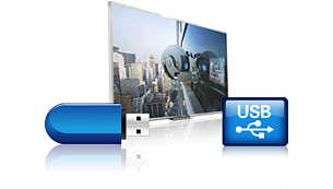 Pausa TV e registrazione USB. Metti in pausa e registra i tuoi programmi preferiti
