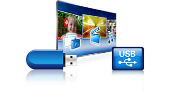 USB for multimedieavspilling