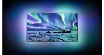 Predstavte si televízor, ktorý sa vznáša v žiare svetla
