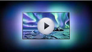 Stellen Sie sich vor, Ihr Fernseher schwebt im Lichteffekt