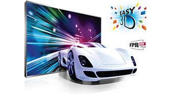 Technologia Easy 3D — komfortowe oglądanie obrazu 3D