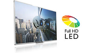 Full HD LED-TV – enastående LED-bilder med suverän kontrast