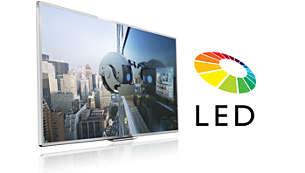 LED-Fernseher für Bilder mit beeindruckenden Kontrasten