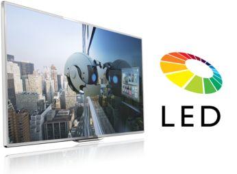 Светодиодный LED-телевизор: невероятная контрастность изображения