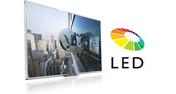 LED-TV for bilder med fantastisk kontrast