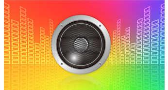 Loa âm lượng lớn để khuếch đại âm thanh