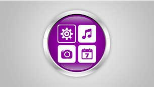 Phím bấm duy nhất để truy cập vào các ứng dụng yêu thích