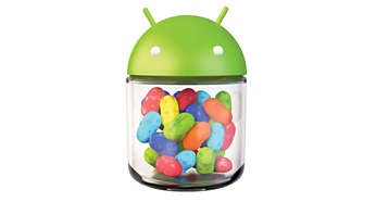 Android™4.1 Jelly Bean for best web surfing experience