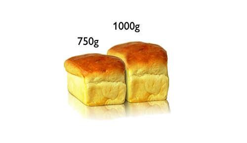 2 formati di pane, fino a 1 kg