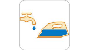 Watertank filling door prevents water spilling
