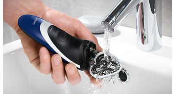 Καθαρίζεται με ένα απλό ξέβγαλμα