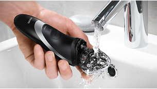 간편한 물 세척이 가능