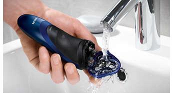 簡單以清水沖洗乾淨