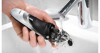 Lätt att skölja ren