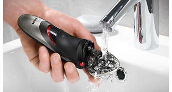 Per pulirlo basta risciacquarlo