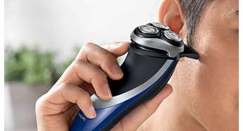 Perfetto per rifinire baffi e basette