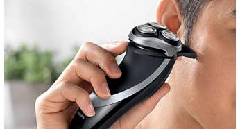 구레나룻 또는 콧수염 손질에 적합