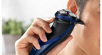 最適合用來修整鬢角與短髭