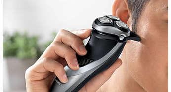 Perfekt til at trimme bakkenbarter og overskæg