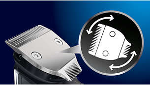 Dual-sided trimmer: 32mm and 15mm sides for perfect details