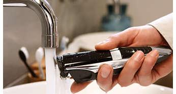 100% resistente al agua para una limpieza fácil